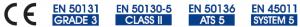 Certificaciones PARADOX PCS250G