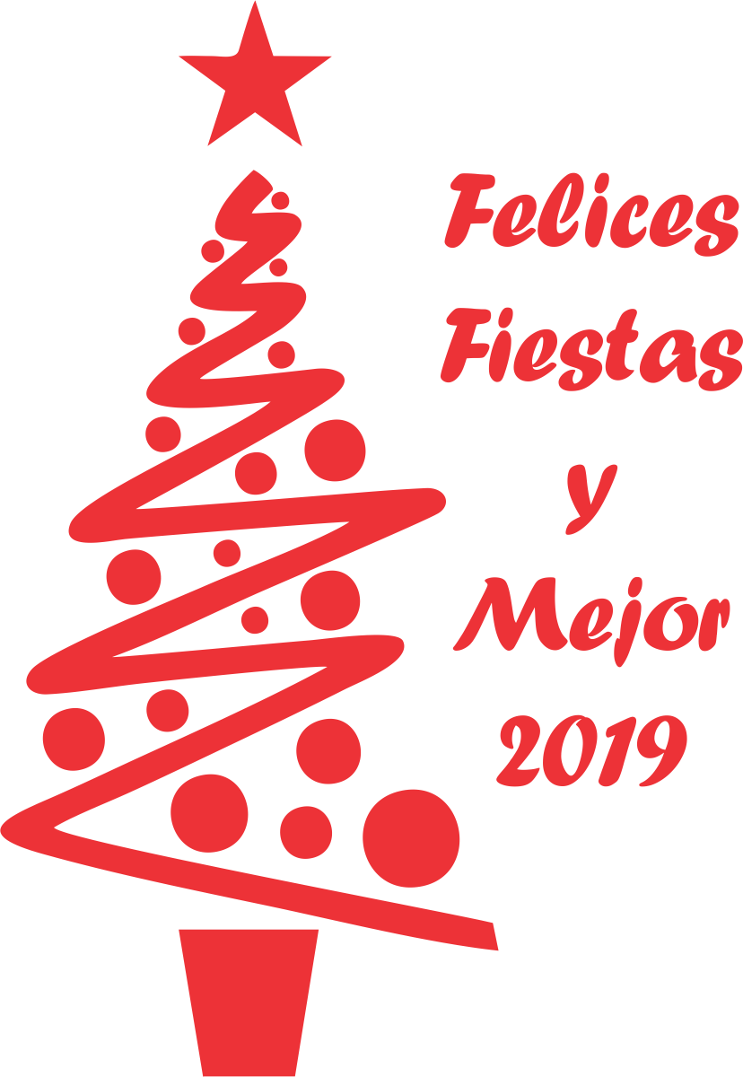 Felices Fiestas y Mejor 2019