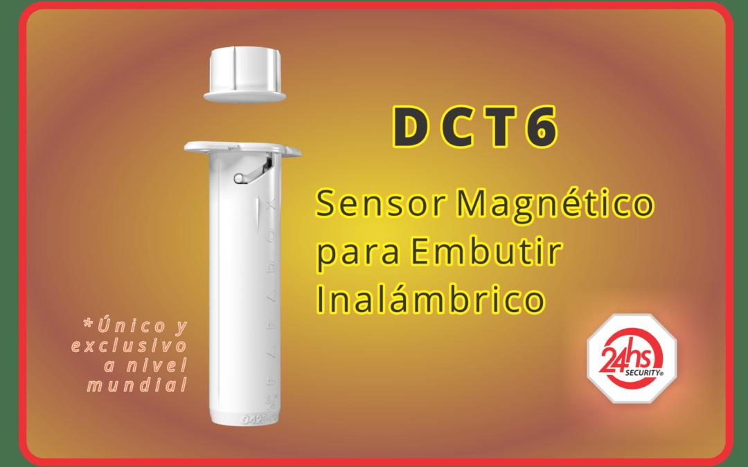 DCT6 (Magnético Embutir Inalámbrico)
